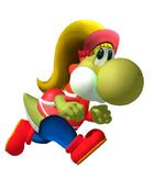 Sally yoshi running