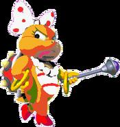 Wendy O. Koopa (SMW sprite colors)- New Super Mario Bros. Wii