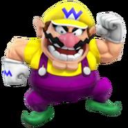 Wario SSB4 Render Luigi