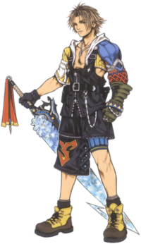 FFX Artwork Tidus