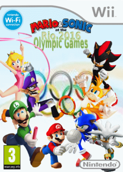 Maro and Sonic at the Rio 2016 Olympic Games