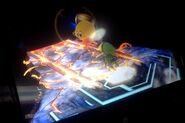 Kirby And Toon Link on Final Destination