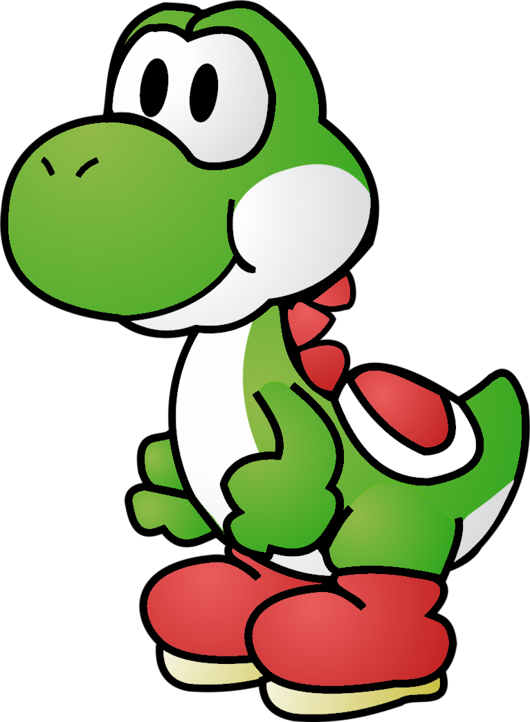 Image - Paper yoshi by mariobros12smbx-d4vee4g.png ...