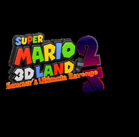 File:SM3DL2 2nd Logo.png
