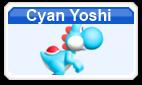 Cyan Yoshi MSMwu