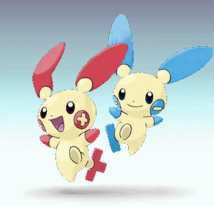 Plusle and Minun SSBD