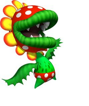 Petey piranha (mario and Kirby)