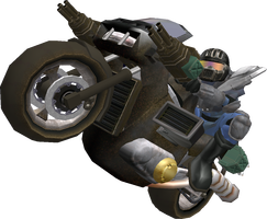 Mach Rider Render