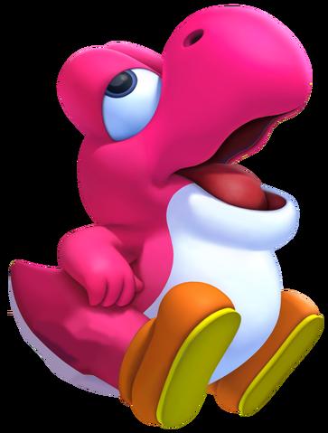 File:Pink Baby Yoshi 2.png