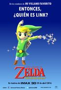 The Wind Waker Movie Mexican Poster