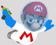 Astronaut Mario