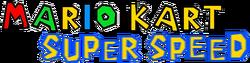 Mario Kart Super Speed Logo 2