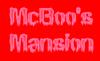 McBoo's Mansion Logo
