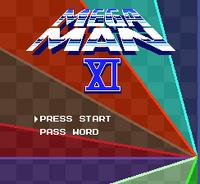 Megaman 11 Title