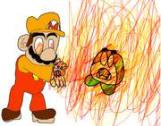 Mega Fire Mario