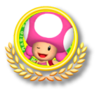 Toadette Tennis Icon