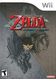 The Legend of Zelda Twilight Princess Game Cover