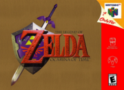The Legend of Zelda Ocarina of Time box art