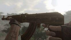 Golden Ak-47 idle 2