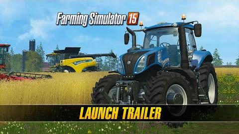 Farming Simulator 15 Consoles Launch Trailer