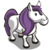 Purple Mane Pony-icon