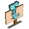 Snow Tulip Mastery Sign-icon