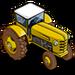 Bright Yellow Tractor-icon