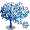 Giant Snowflake Tree-icon