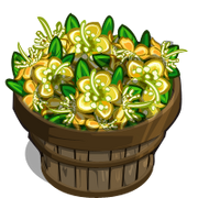 Yellow Myrtle Flower Bushel-icon