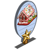 Gingerbread House 1 Star Mastery Sign-icon