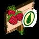 Organic Raspberry Mastery Sign-icon