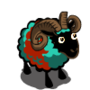 Two toned belted Ram
