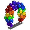 Spring Balloon Arch-icon