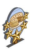 Chardonnay Frosted Cake 5 Star Mastery Sign-icon