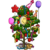 4th Birthday Party Tree-icon