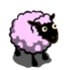 PalePink Dotted Sheep