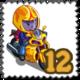 Racette Gnome Stamp-icon