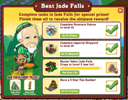 Beat Jade Falls Requirements