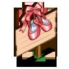 Ballerina Slippers Mastery Sign-icon