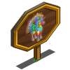 Rainbow Swirl Pegacorn Mastery Sign-icon