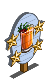 Kangaroo Paw Cocktail 4 Star Mastery Sign-icon