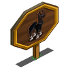 Ballet Instructor Horse Mastery Sign-icon