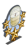 Restoring Candle 5 Star Mastery Sign-icon