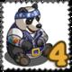 Road Panda Stamp-icon