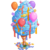 4th Birthday Cotton Candy Tree-icon