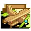 Wooden Toy Plane-icon