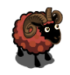 Rust Burnt Umber-Dotted Ram-icon