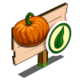 Organic Pumpkin Mastery Sign-icon