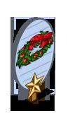 Holly Wreath 1 Star Mastery Sign-icon