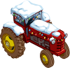 Winter Tractor-icon